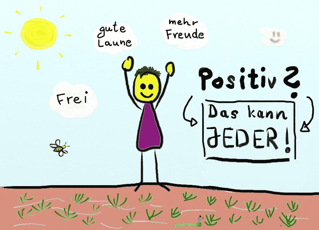 Positiv Denken kann jeder lernen