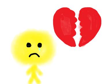 unglücklich in der Liebe